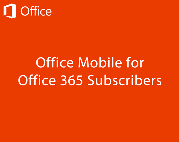 Office Mobile for Office 365_1