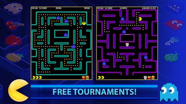 PAC-MAN +Tournaments 3