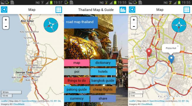 Thailand Offline Map & Guide 1