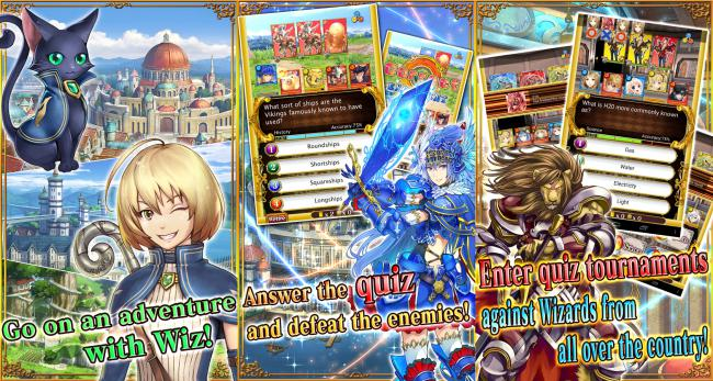 Quiz RPG World of Mystic Wiz 1