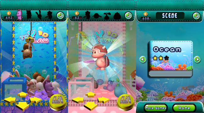 Toy Claw 3D FREE 2