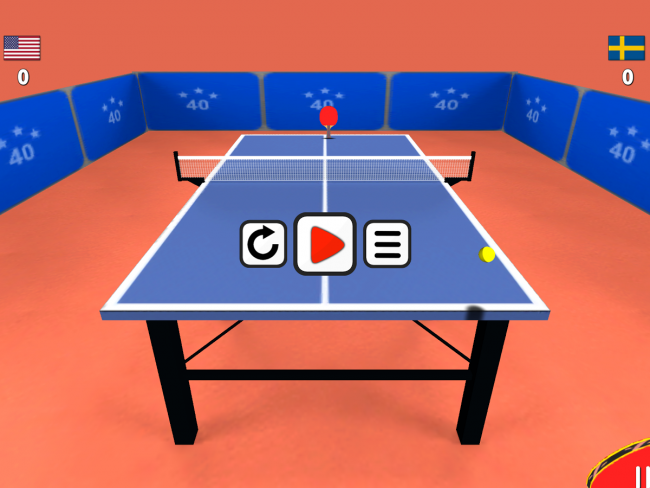 Table Tennis 3D 4