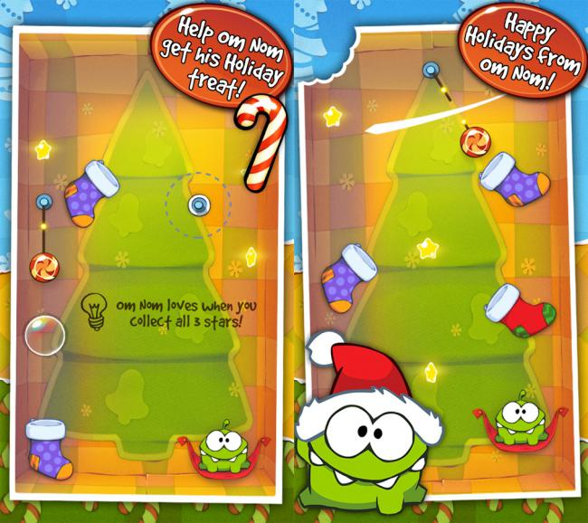 Cut the Rope Holiday Gift 2