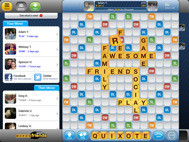 Words With Friends Free 2