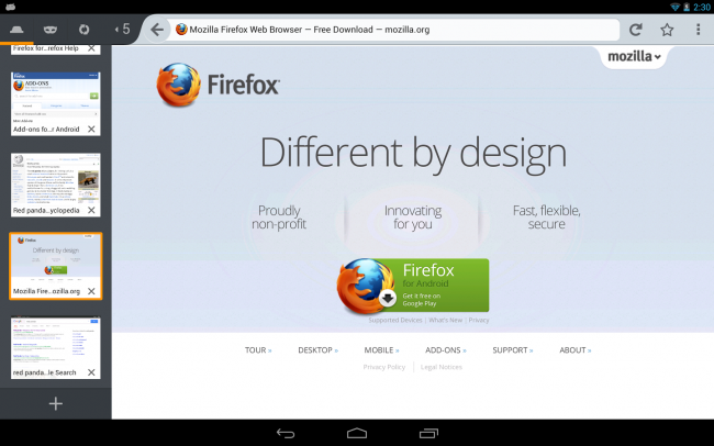 Firefox Browser for Android 2