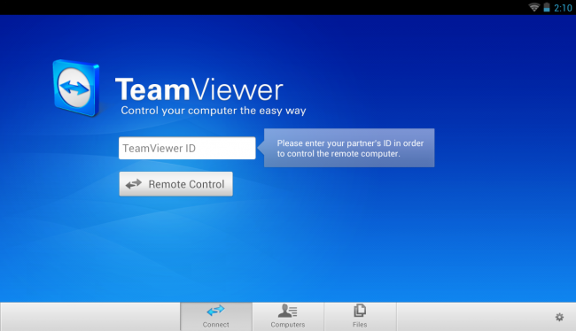 TeamViewer for Remote Control 2