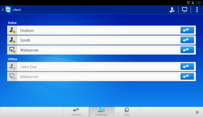 TeamViewer for Remote Control 3