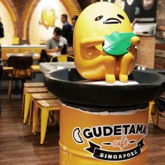 คาเฟ่น้องไข่จอมขี้เกียจ Gudetama บุกสิงคโปร์แล้ว!