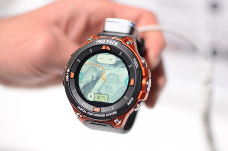 CASIO WSD - F20 นาฬิกาอัจฉริยะสำหรับนักผจญภัย บนระบบ Android wear 2.0