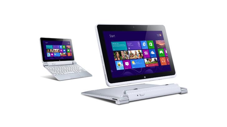 Acer ICONIA W510 แท็บเล็ต ราคาประหยัด แบตอึด ด้วย CPU Atom !