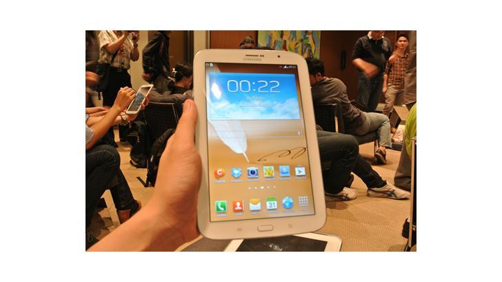 สัมผัสแรก Samsung Galaxy Note 8.0