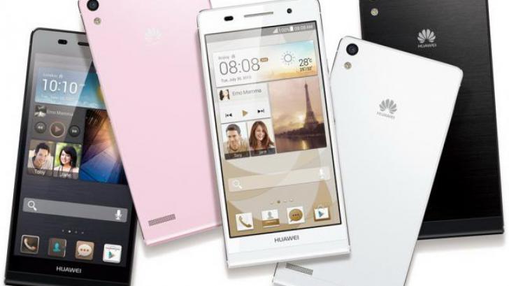 Huawei Ascend P6 แอนดรอยส์โฟนที่บางที่สุดในโลก