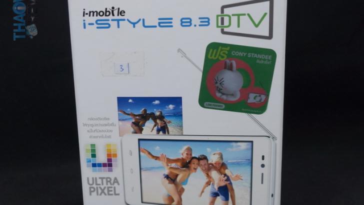 รีวิว i-mobile i-STYLE 8.3 DTV ควอดคอร์ สองซิม ดูดิจิตอลทีวีได้