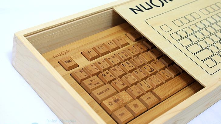รีวิว NUOR Bamboo Combo Set แฝดเมาส์คีย์บอร์ดไร้สาย ผลิตจากไม้ไผ่ดีไซน์สวย