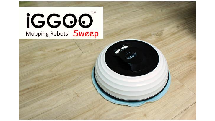 รีวิว iGGOO SWEEP หุ่นยนต์ถูพื้นอัตโนมัติ ดีไซน์กระทัดรัด ราคาโดนใจ