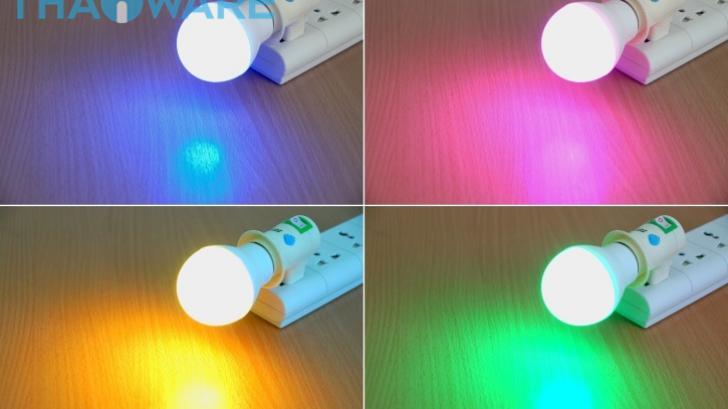 รีวิว iLightPlus Rainbow Cool หลอดไฟสนุกๆ เปลี่ยนสีได้ ควบคุมผ่านรีโมทหรือสมาร์ทโฟน