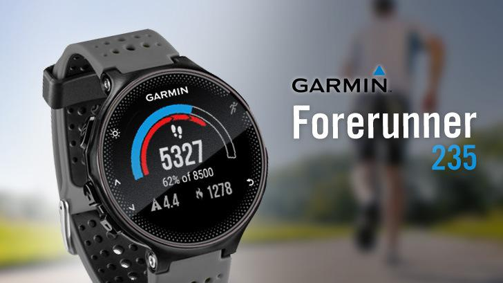 รีวิว GARMIN Forerunner 235 นาฬิกา GPS สำหรับนักวิ่งตัวจริง ที่ใส่ใจเรื่องสุขภาพ