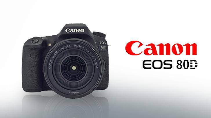 Canon EOS 80D กล้อง DSLR ระดับกึ่งโปร ที่รองรับการใช้งานในระดับมืออาชีพ