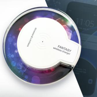 เนรมิตสมาร์ทโฟนทุกเครื่องให้ชาร์จไร้สายได้ด้วย Wireless Charger รุ่น Fantasy