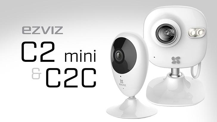 รีวิว ezviz c2 mini และ c2c กล้องวงจรปิดอินเทอร์เน็ตตัวเล็กๆ เซ็ตอัพง่าย ใช้งานง่าย