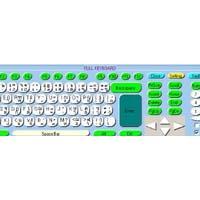 โปรแกรม แป้นพิมพ์บนหน้าจอ (Keyboard on the Screen)