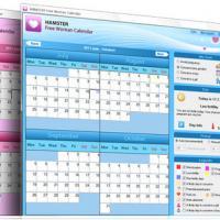 Hamster Free Woman Calendar (โปรแกรม ปฏิทิน สำหรับผู้หญิง เท่านั้น)