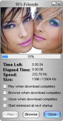 โปรแกรมช่วยดาวน์โหลดวีดีโอ Free Video Downloader Toolbar