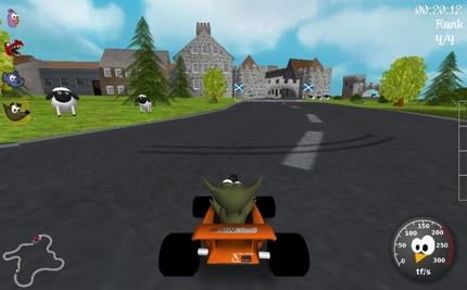 เกมแข่งรถ SuperTuxKart