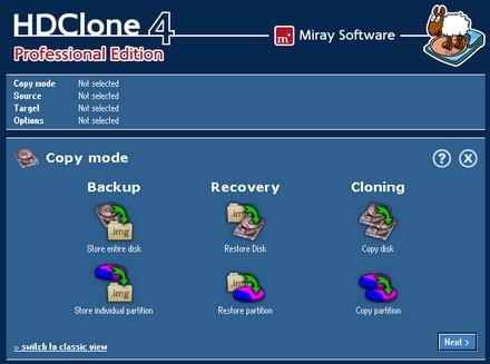 ดาวน์โหลดโปรแกรม HDClone