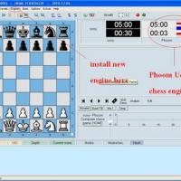 Phoom UCI Chess Engine (โปรแกรม หมากรุกสากล เล่นบน Windows หรือ Chess Areana)
