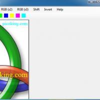 Image RGB (โปรแกรม สอนการเรียนรู้เรื่องการ ผสมสี จากแม่สีทั้ง 3 เขียว แดง น้ำเงิน)