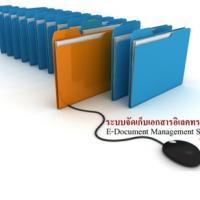 E-Document (ระบบการจัดเก็บเอกสาร เอกสารอิเล็กทรอนิกส์ ในองค์กร)