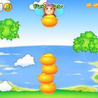 Honey Jar (เกม จัดเรียงโอ่งน้ำผึ้ง ที่หล่นลงมาให้เป็นแนวตั้ง ไม่มีที่ว่างสำหรับคนพลาด !)