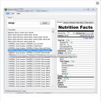 Nutrition Facts (โปรแกรม ที่ช่วยวิเคราะห์ คุณค่าทางโภชนาการ)