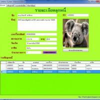 Debtor System (โปรแกรม เก็บข้อมูล ระบบลูกหนี้)