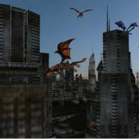 Dragon City 3D Screen Saver (โปรแกรม สกรีนเซฟเวอร์ มังกรบินพ่นไฟ)