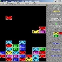 Magic Tetcolor (เกมตัวต่อ อมตะนิรันดร์กาล)