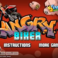 Angry Biker 3d (เกม ขี่มอเตอร์ไซต์ ดุเดือด สุดมันส์)