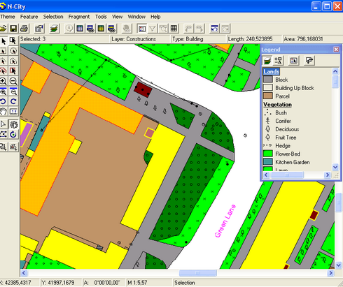 GIS ObjectLand (โปรแกรมสร้างแผนที่ ทางภูมิศาสตร์) :