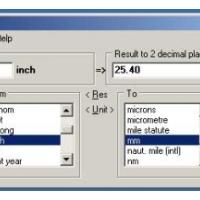 UniConv (Universal Converter) (โปรแกรมแปลงหน่วย เปลี่ยนหน่วย สารพัดประโยชน์)
