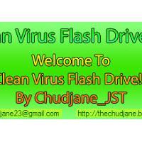 Clean Virus Flash Drive (โปรแกรมป้องกันไวรัส จากแฟรชไดร์ฟ)