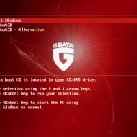 G Data BootCD (โปรแกรมสแกนไวรัส ก่อนบู้ตเครื่องเสร็จ กันไว้ดีกว่าแก้)