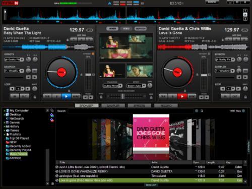 โปรแกรมดีเจ Virtual DJ