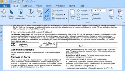 โปรแกรม Foxit Reader  เปิดไฟล์ PDF