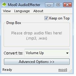 Moo0 Audio Effect (โปรแกรมแต่งเสียง) :