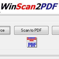 WinScan2PDF (โปรแกรม WinScan2PDF แปลงไฟล์ PDF พกพา)