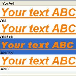 FontViewOK (โปรแกรมดู Font ดูตัวอย่างฟ้อนต์ ในเครื่อง) :
