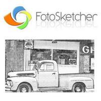 FotoSketcher (โปรแกรม FotoSketcher ทำภาพสเก็ต ภาพวาดแรเงา)