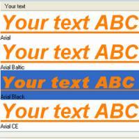 FontViewOK (โปรแกรมดู Font ดูตัวอย่างฟ้อนต์ ในเครื่อง)