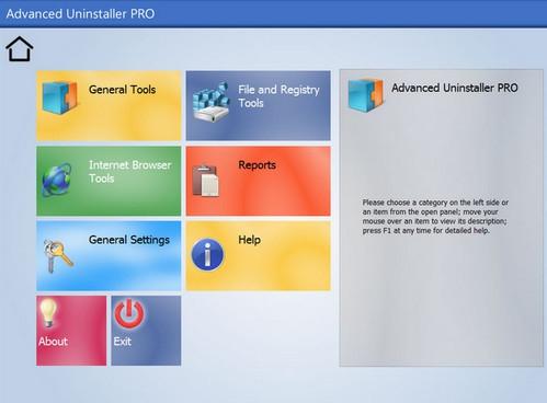 โปรแกรมลบโปรแกรม Advanced Uninstaller